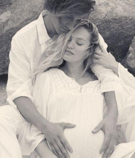 Candice Swanepoel he lo hinh anh con trai, tieu thu nha Adam - Behati da co 'doi thu' - Anh 6