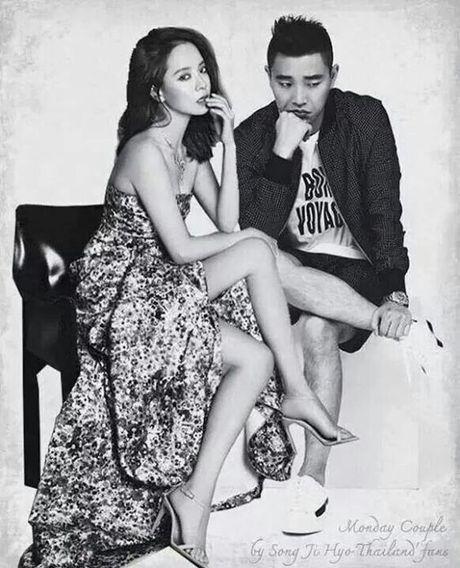 Running Man: Nhung nu hon khong the ngot ngao hon cua Monday Couple - Anh 2