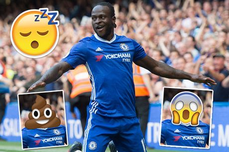 Tro nghich ngom cua Mikel khi 'bien hoa' hinh hai cac sao Chelsea - Anh 2
