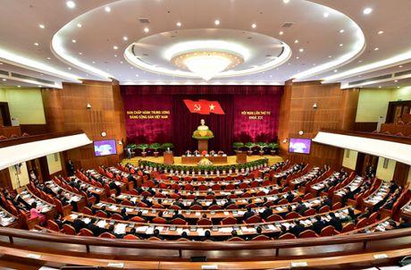 Khai mac Hoi nghi lan thu Tu, Ban Chap hanh T.U Dang Khoa XII - Anh 1