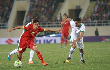Tuyen Viet Nam bi Indonesia cam hoa 2-2 ngay Huu Thang gap lai thay Riedl - Anh 1