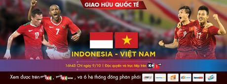 K+ mua ban quyen phat song tran dau giao huu giua Indonesia va Viet Nam - Anh 1