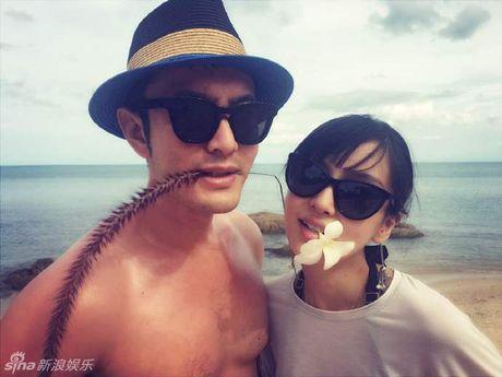 Huynh Hieu Minh xac nhan Angelababy dang mang bau - Anh 3
