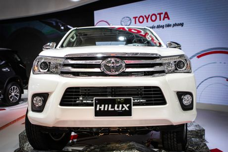 Toyota Hilux 2016 dung dong co moi tai Viet Nam - Anh 3