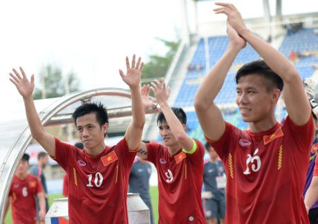 Indonesia vs DTVN (0-2, H1): Van Thang, Minh Tuan ghi ban - Anh 6