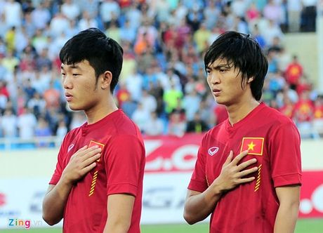 Indonesia vs DTVN (0-2, H1): Van Thang, Minh Tuan ghi ban - Anh 9