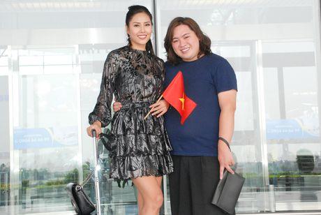 Nguyen Thi Loan, Phuong Linh len duong thi nhan sac quoc te - Anh 4