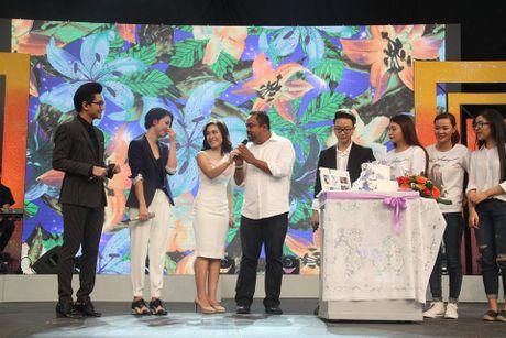 Chong Thu Phuong goi vo la 'be' tren song truc tiep - Anh 1