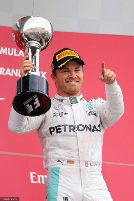 Nico Rosberg ve nhat o chang dua Nhat Ban GP - Anh 1
