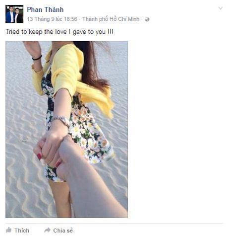 Phan Thanh yeu long, kho niu keo duoc Midu - Anh 3