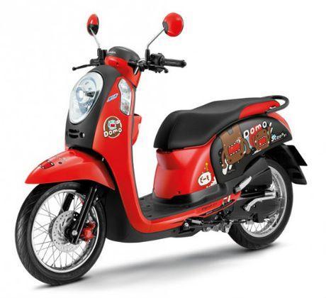 Honda Scoopy i Domo-kun gia 30,8 trieu dong cho nu sinh - Anh 1