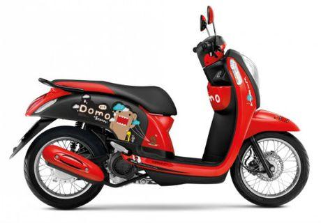 Honda Scoopy i Domo-kun gia 30,8 trieu dong cho nu sinh - Anh 2