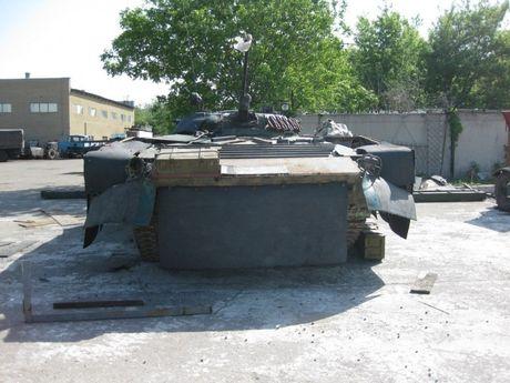 'Dau tim' voi xe chien dau bo binh BMP-2 nang cap cua Ukraine - Anh 9