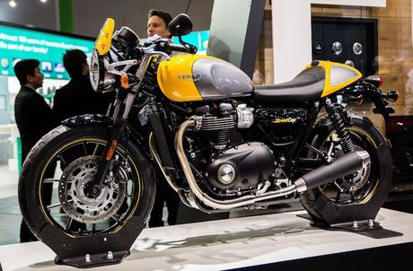 Triumph 'chao hang' moto cafe racer Street Cup 2017 gia re - Anh 1