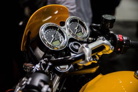 Triumph 'chao hang' moto cafe racer Street Cup 2017 gia re - Anh 4