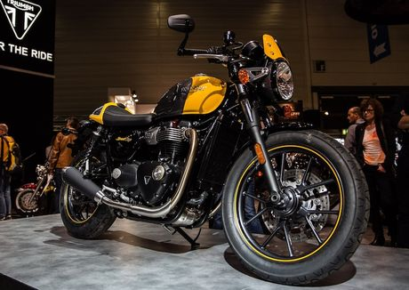 Triumph 'chao hang' moto cafe racer Street Cup 2017 gia re - Anh 6
