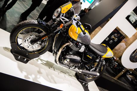 Triumph 'chao hang' moto cafe racer Street Cup 2017 gia re - Anh 8
