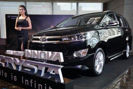 Toyota Innova 2016 Thai Lan 'xin' va re hon phien ban Viet - Anh 1