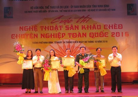 5 huy chuong Vang duoc trao trong cuoc thi Cheo toan quoc 2016 - Anh 1