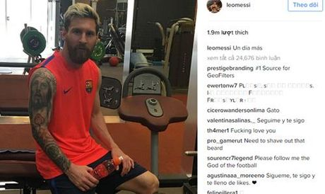 Man City nhan tin cuc xau tu... Messi - Anh 2