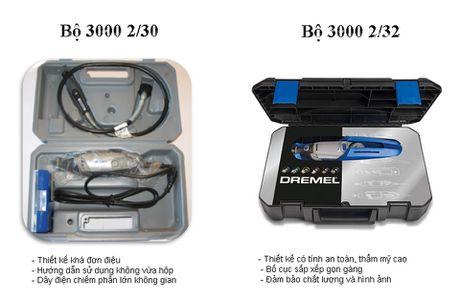 Bo San pham Dremel 3000 2/32 Promotion Kit – su khac biet va tien loi cho cac tin do dam me DIY - Anh 7