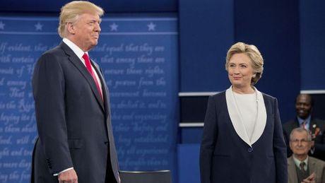 Tranh luan lan 2 giua Trump va Hillary: Ai thang, ai thua? - Anh 1