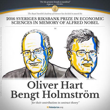 Nobel Kinh te cho Oliver Hart va Bengt Holmstrom - Anh 1