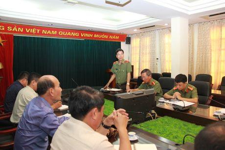Doan dai bieu Bo Thong tin, Van hoa va Du lich Lao tham, lam viec tai Bao CAND - Anh 1