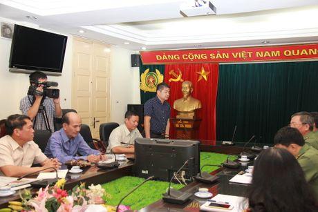 Doan dai bieu Bo Thong tin, Van hoa va Du lich Lao tham, lam viec tai Bao CAND - Anh 2