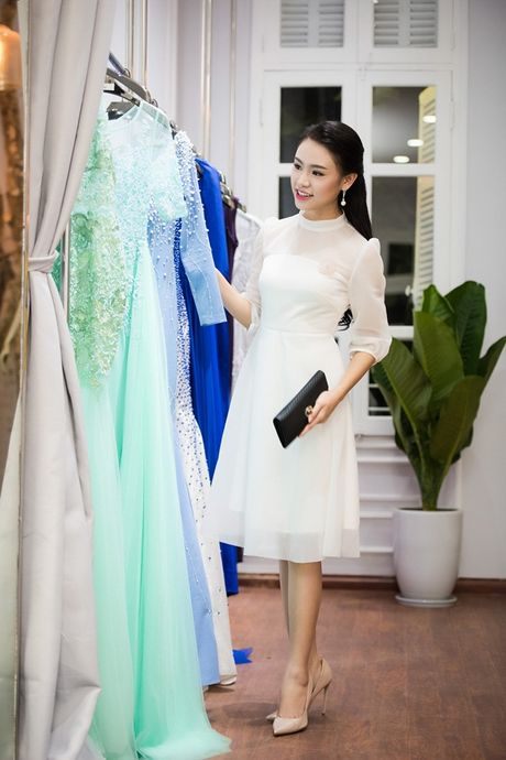 'Co gai vang' cua Hoa hau Viet Nam hoi ngo dan chi Huyen My - Anh 6