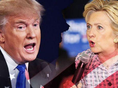 Tranh luan truc tiep lan 2: Ba Clinton van to ra than trong, binh tinh hon ong Trump - Anh 1