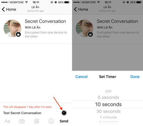 Cach gui tin nhan bi mat, tu huy tren Facebook Messenger - Anh 4
