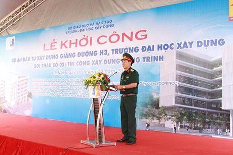 Khoi cong xay dung giang duong H3 Dai hoc Xay dung - Anh 3