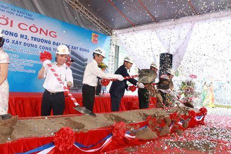 Khoi cong xay dung giang duong H3 Dai hoc Xay dung - Anh 4