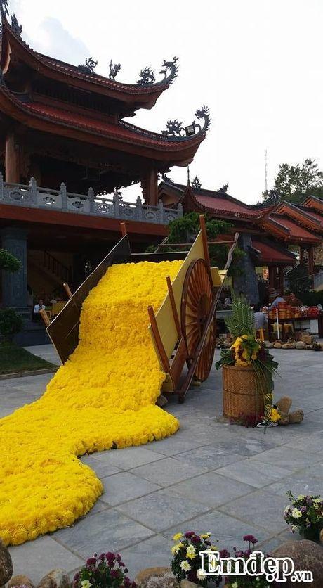 Den chua Ba Vang thuong ngoan hoa cuc 7 mau - Anh 5