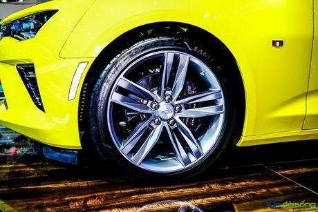 Chevrolet Camaro SS, xe co bap duy nhat tai VMS 2016 - Anh 11