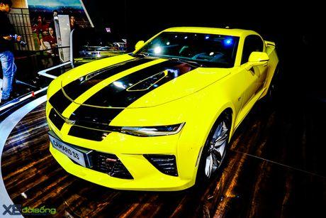 Chevrolet Camaro SS, xe co bap duy nhat tai VMS 2016 - Anh 6