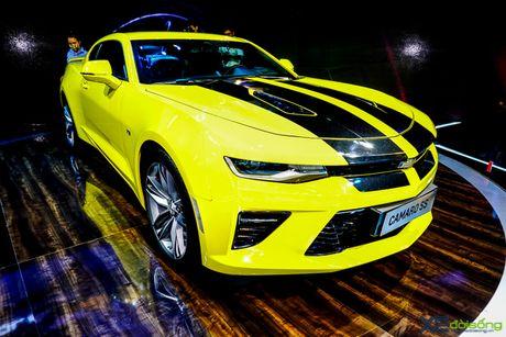 Chevrolet Camaro SS, xe co bap duy nhat tai VMS 2016 - Anh 7