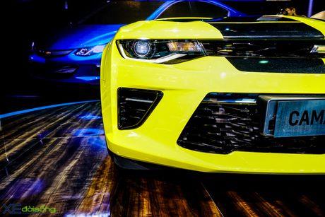 Chevrolet Camaro SS, xe co bap duy nhat tai VMS 2016 - Anh 9