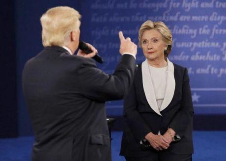 Soi ngon ngu co the cua Donald Trump trong cuoc tranh luan lan 2 - Anh 1