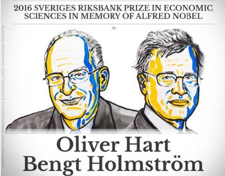 Nobel Kinh te 2016 vinh danh 2 nha khoa hoc My - Anh 1