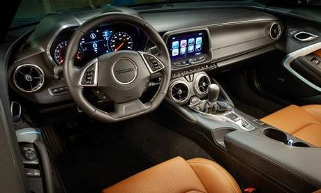 GM Viet Nam se phan phoi Chevrolet Camaro SS lung danh the gioi - Anh 3