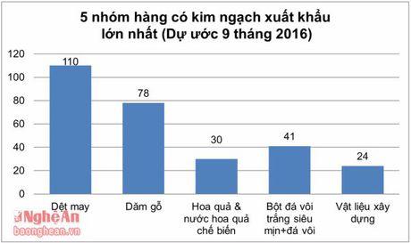 Nghe An: Phan dau dat 500 trieu USD kim ngach xuat khau hang hoa - Anh 2