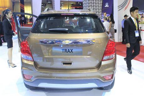 Chevrolet Trax ham nong phan khuc SUV do thi co nho - Anh 4