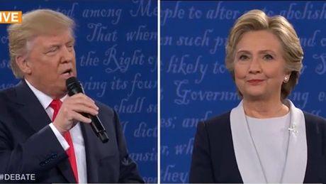 Ty phu Trump doa bo tu ba Clinton neu dac cu tong thong - Anh 1
