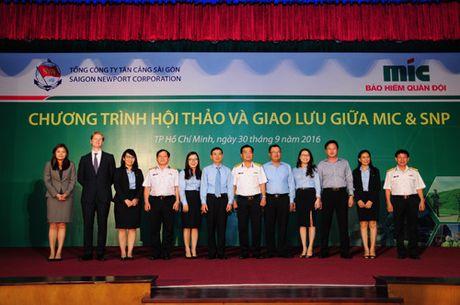MIC va Tan Cang Sai Gon tang cuong hop tac - Anh 1