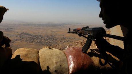 IS mat 1/4 lanh tho o Syria va Iraq - Anh 1