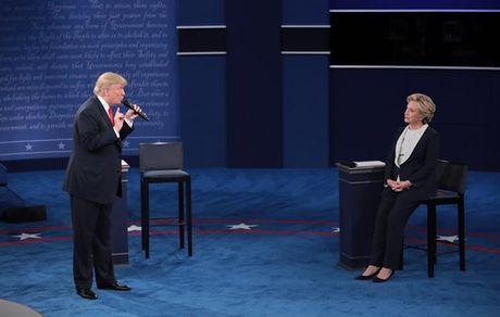 Tranh luan tay doi Trump – Clinton lan 2: Khong co chien thang? - Anh 1