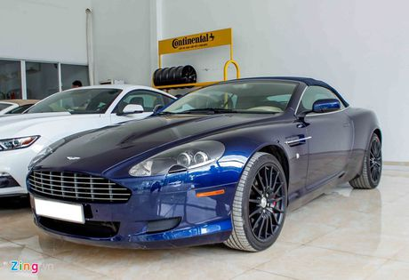 Aston Martin DB9 - sieu xe vang bong mot thoi tai Viet Nam - Anh 2