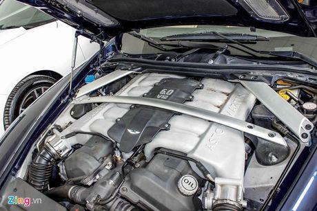 Aston Martin DB9 - sieu xe vang bong mot thoi tai Viet Nam - Anh 4